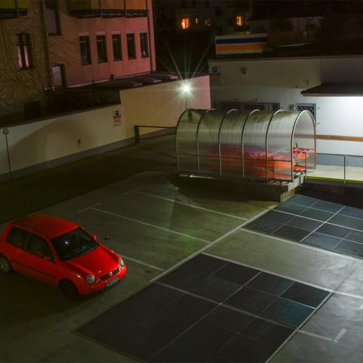 Parkplatz in Köln (2008)